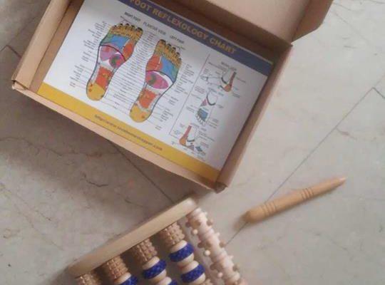 Massaggiatore per i piedi in legno 540x400 - Opinione sul massaggiatore per i piedi in legno Ulike: recensione
